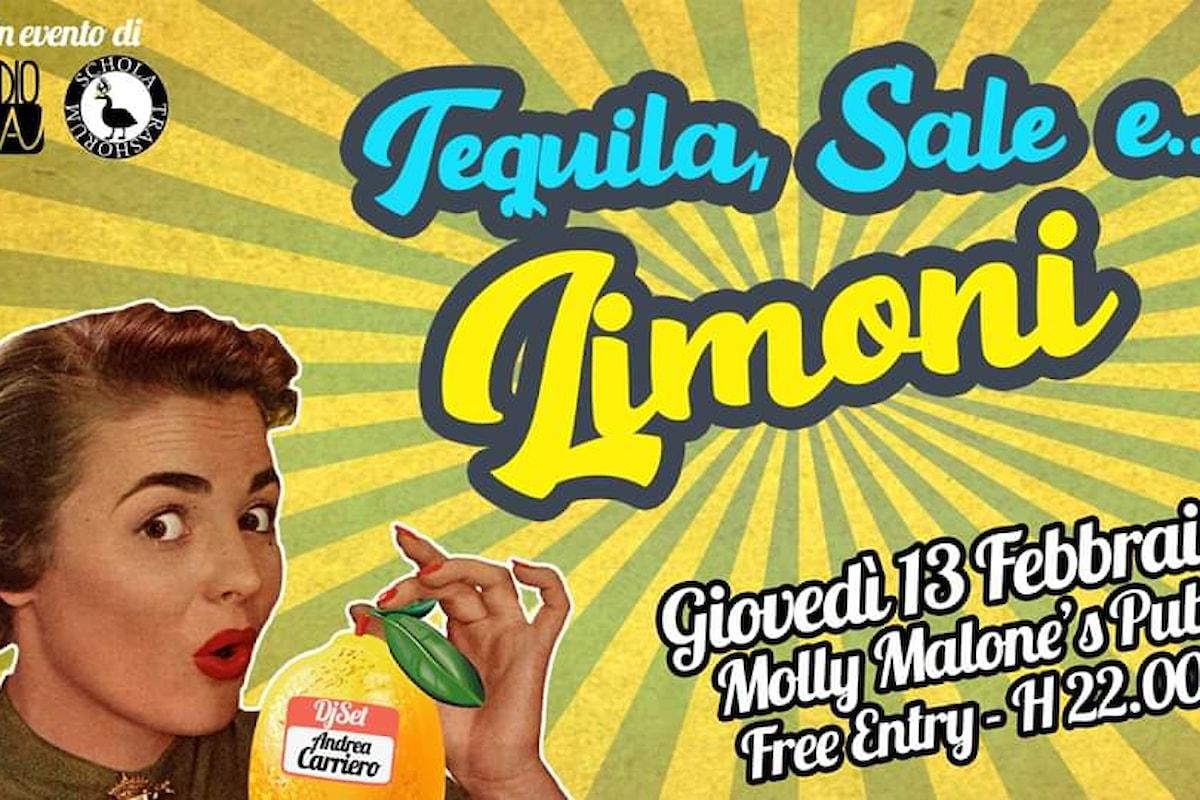 Arriva la festa anti San Valentino più trash di Lecce: Tequila Sale… e Limoni