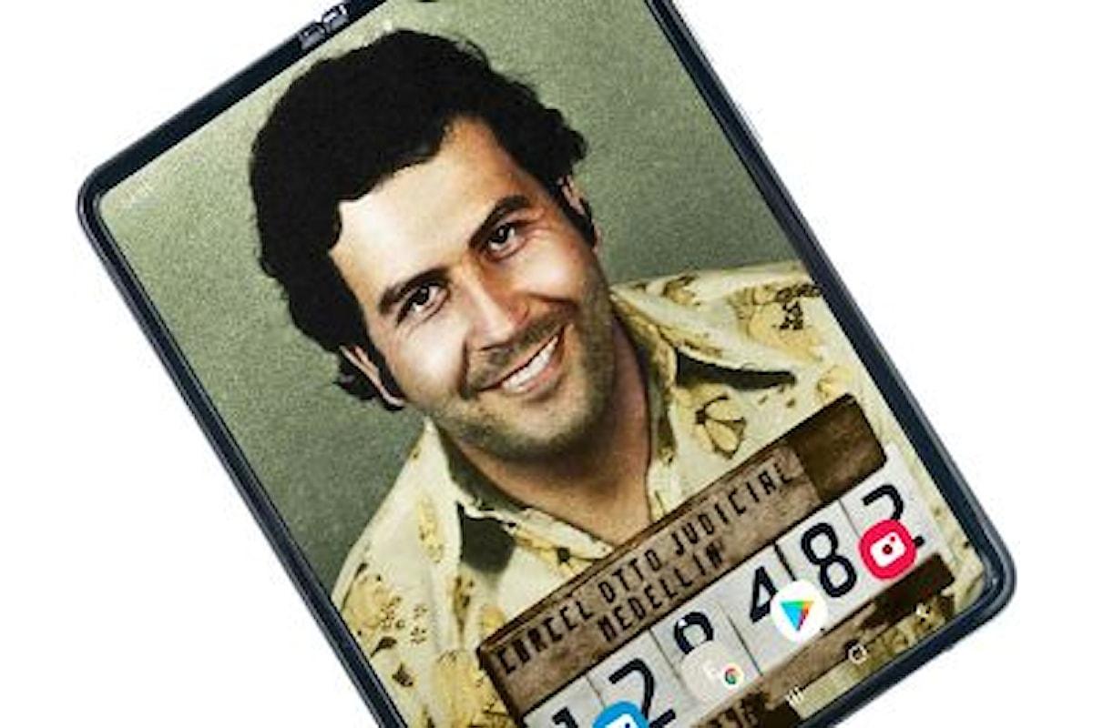 Escobar Fold 2: il fratello di Pablo Escobar propone l'ennesimo smartphone con display pieghevole