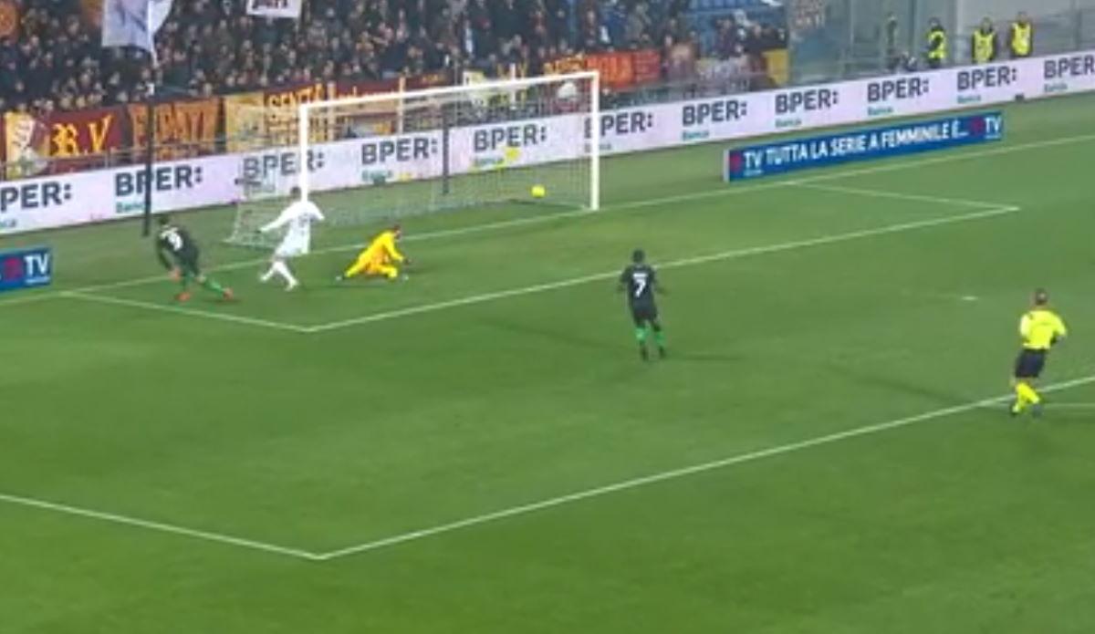 Il Sassuolo asfalta la Roma 4-2 nella 3.a giornata di ritorno di Serie A