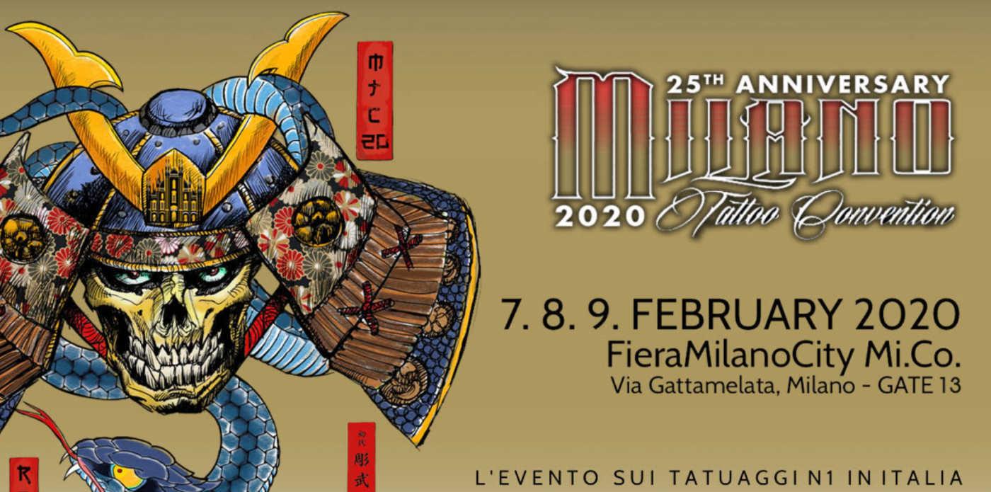 Milano Tattoo Convention 2020 alla Fiera
