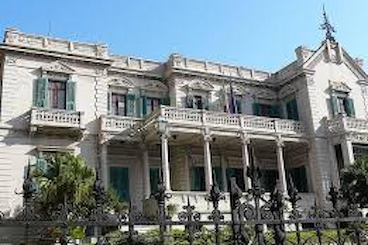 Milazzo (ME) - Villa Vaccarino diventa sede dell'Area Marina Protetta