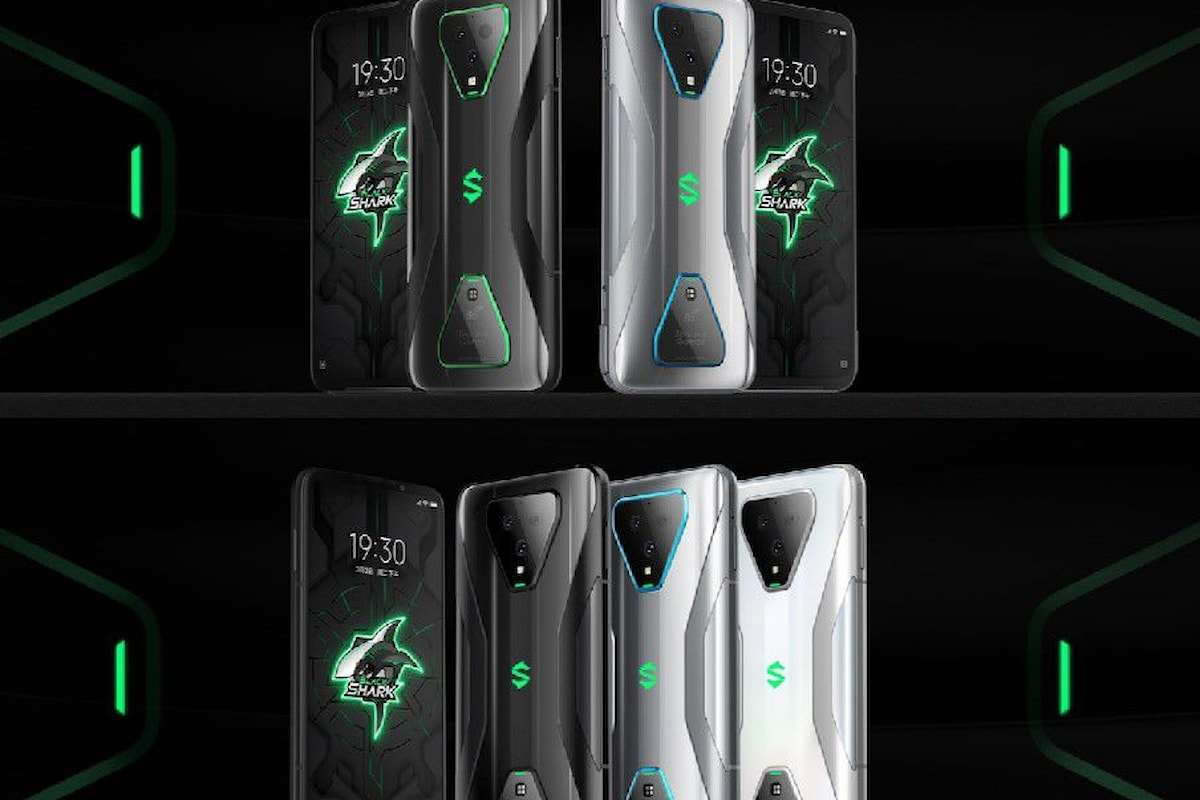 Black Shark 3 e Black Shark 3 Pro presentati ufficialmente: i nuovi ed interessanti gaming phone 5G di Xiaomi