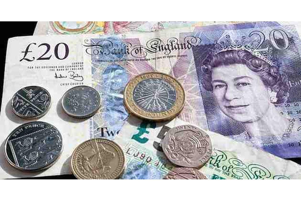 Valute, la sterlina cola a picco. Ma gli indici azionari in tutta Europa