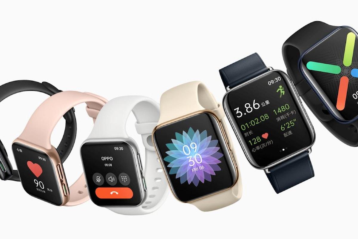 OPPO Watch presentato ufficialmente: sarà il vero rivale dell'Apple Watch?