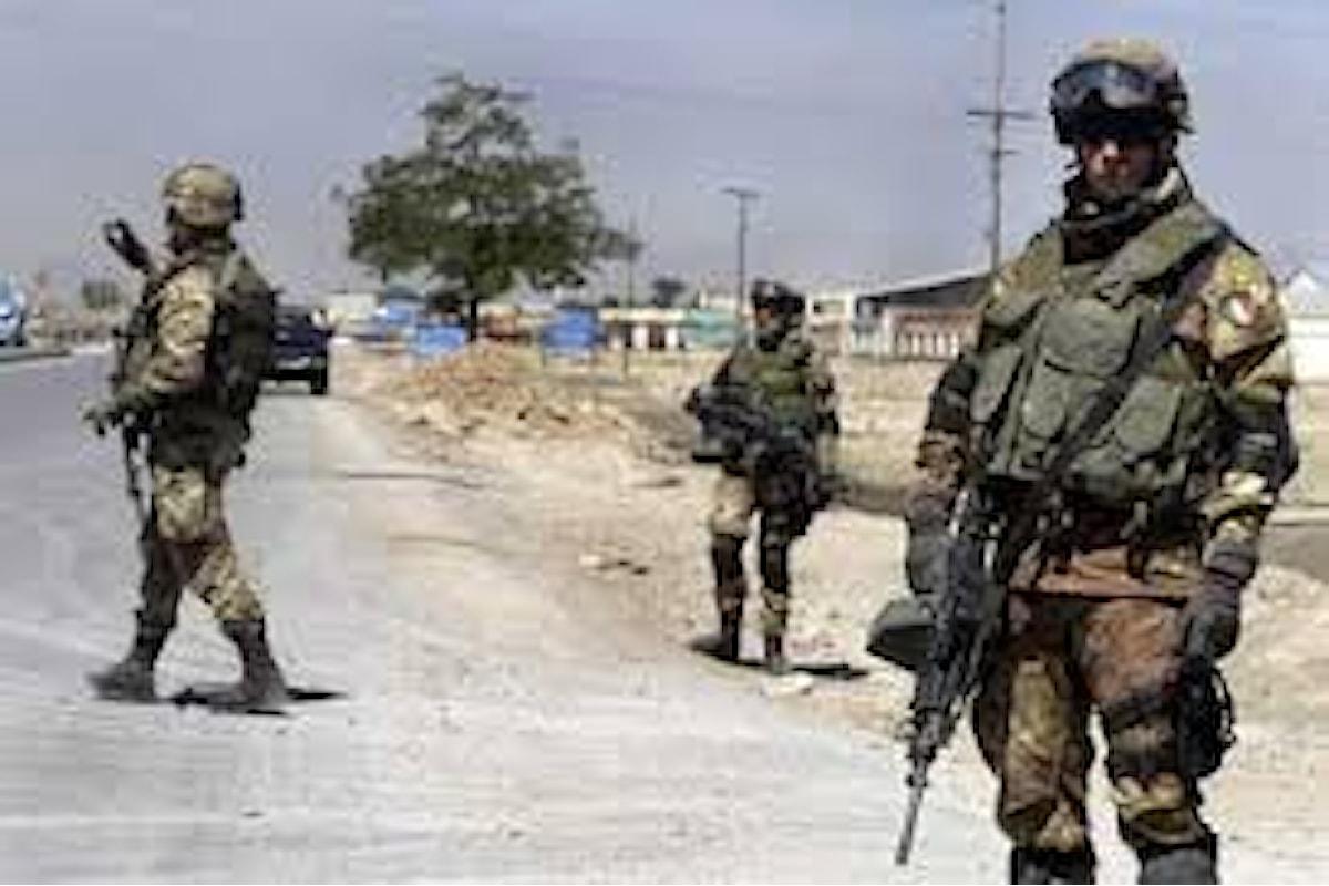 Afghanistan: 4 militari italiani contagiati dal coronavirus, positivi altri 38 militari NATO della missione Resolute Support