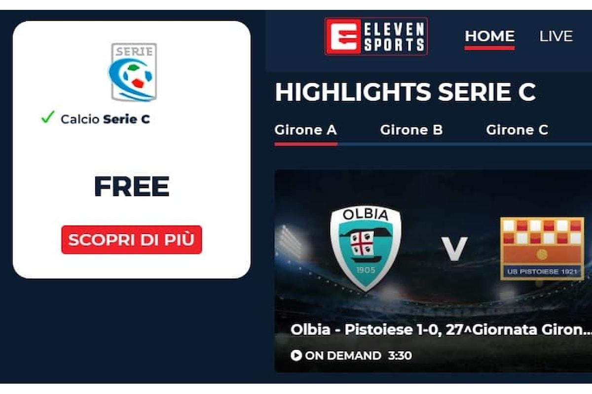 Calcio Lega Pro: deciso lo streaming gratis delle partite della Serie C