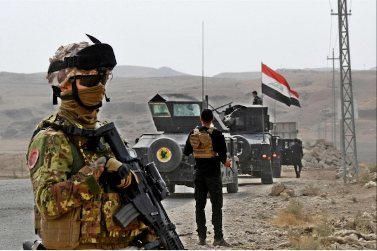 Iraq: 200 militari italiani rientrano in Italia, sospese le attività addestrative a causa del coronavirus