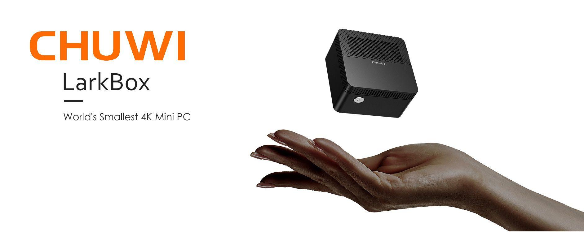 CHUWI LarkBox: il PC più piccolo di una mela
