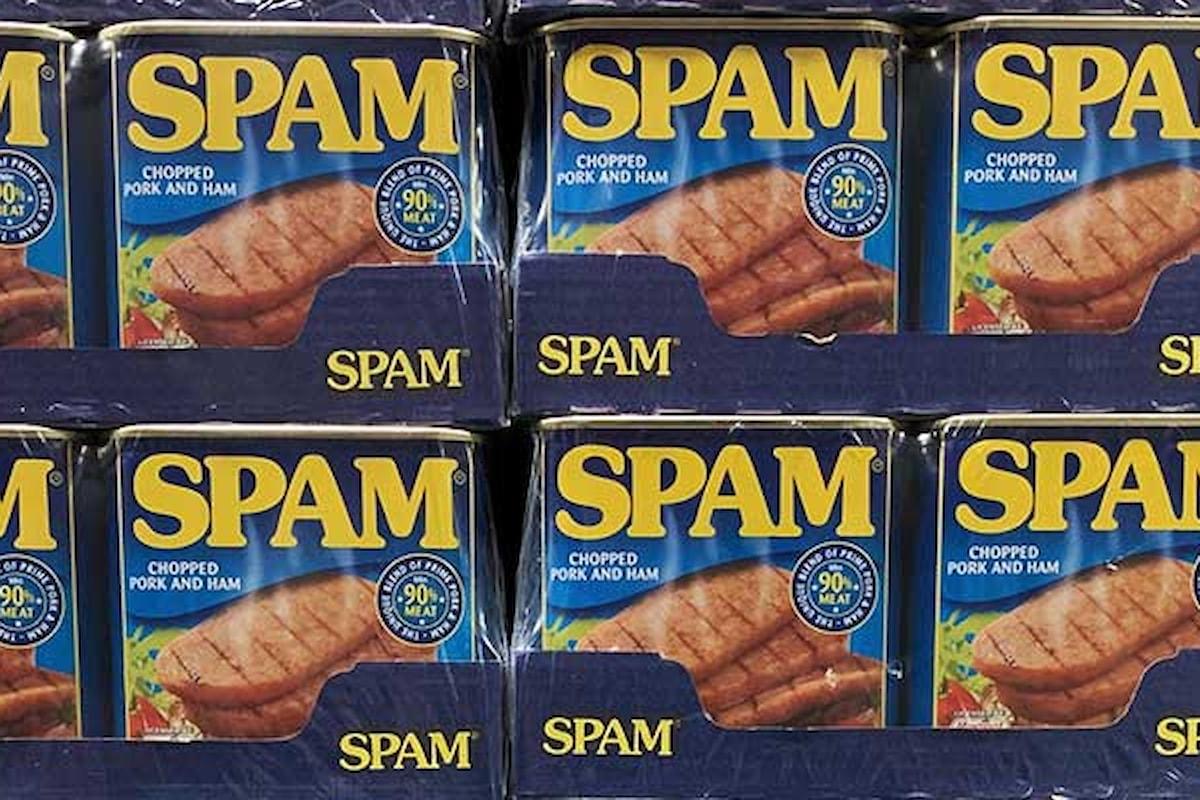 La carne in scatola SPAM?