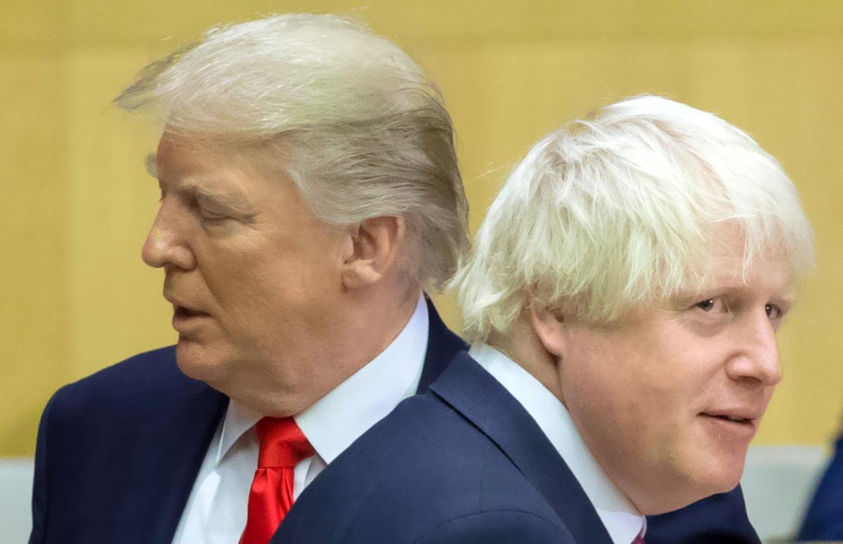Covid-19: la prudenza di Johnson, la fretta di Trump