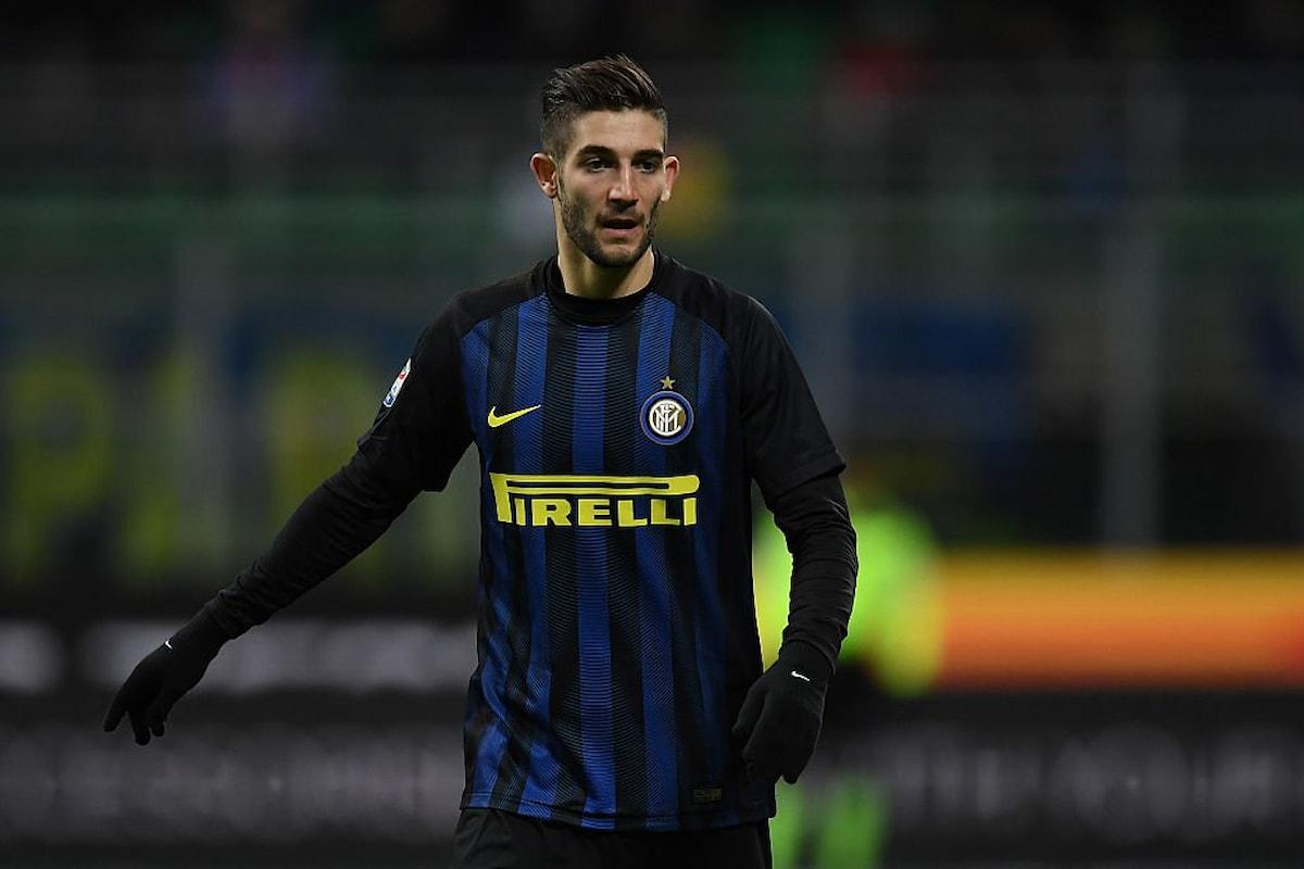 Il centrocampista dell'Inter Roberto Gagliardini conta su questi due mesi finali di stagione per rimanere