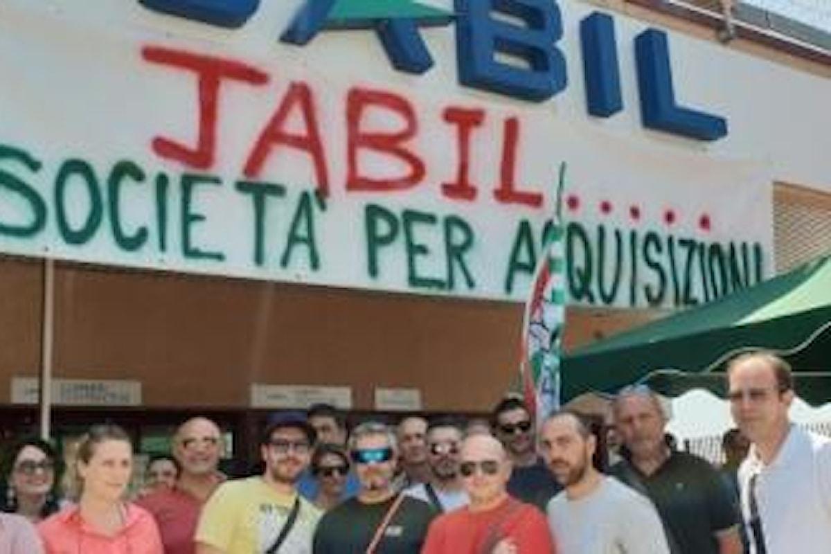 Jabil di Marcianise: confermati i 190 licenziamenti dopo abbandono trattativa