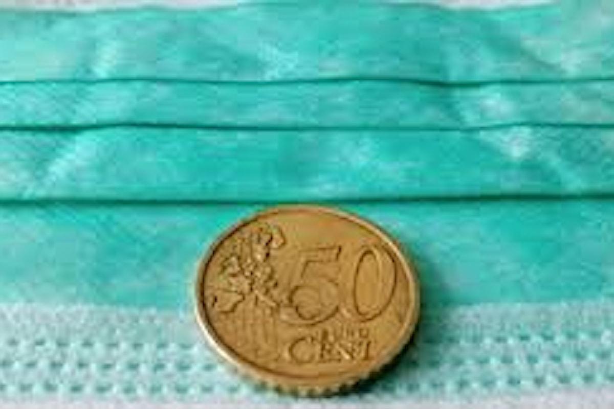 Da lunedì 18 maggio le mascherine a 50 centesimi anche in farmacia
