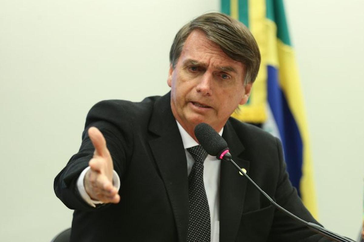 Brasile: altra bufera giudiziaria sui Bolsonaro, dopo i figli è la volta del padre