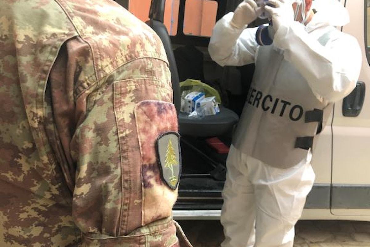 Foggia: i militari del 21° Reggimento Artiglieria sanificano il carcere di San Severo