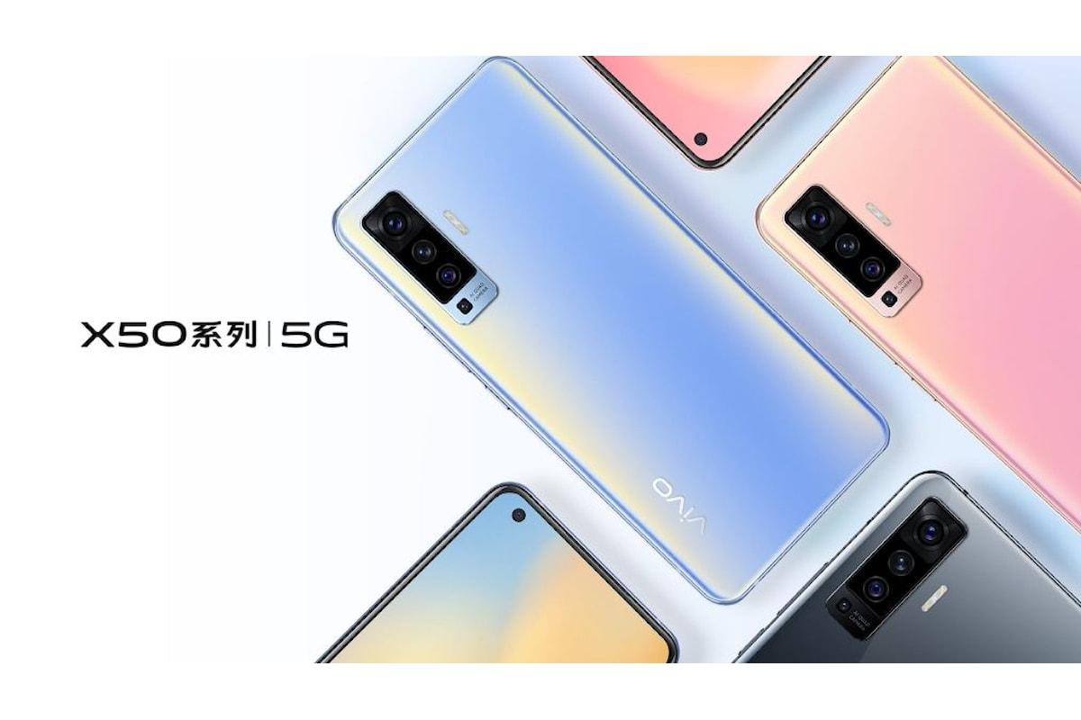 Vivo X50 è stato presentato ufficialmente: la fascia media ha un nuovo smartphone 5G