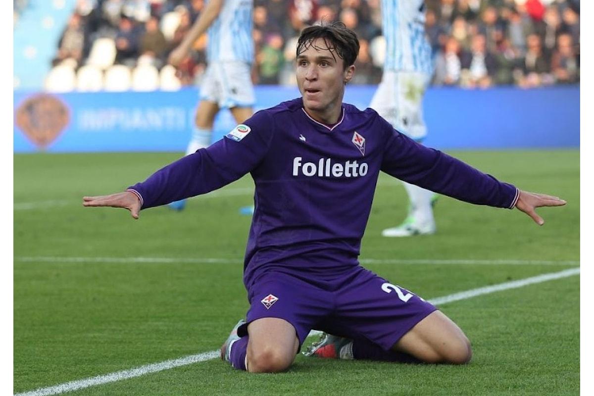 Fiorentina, la Juventus insiste per Federico Chiesa