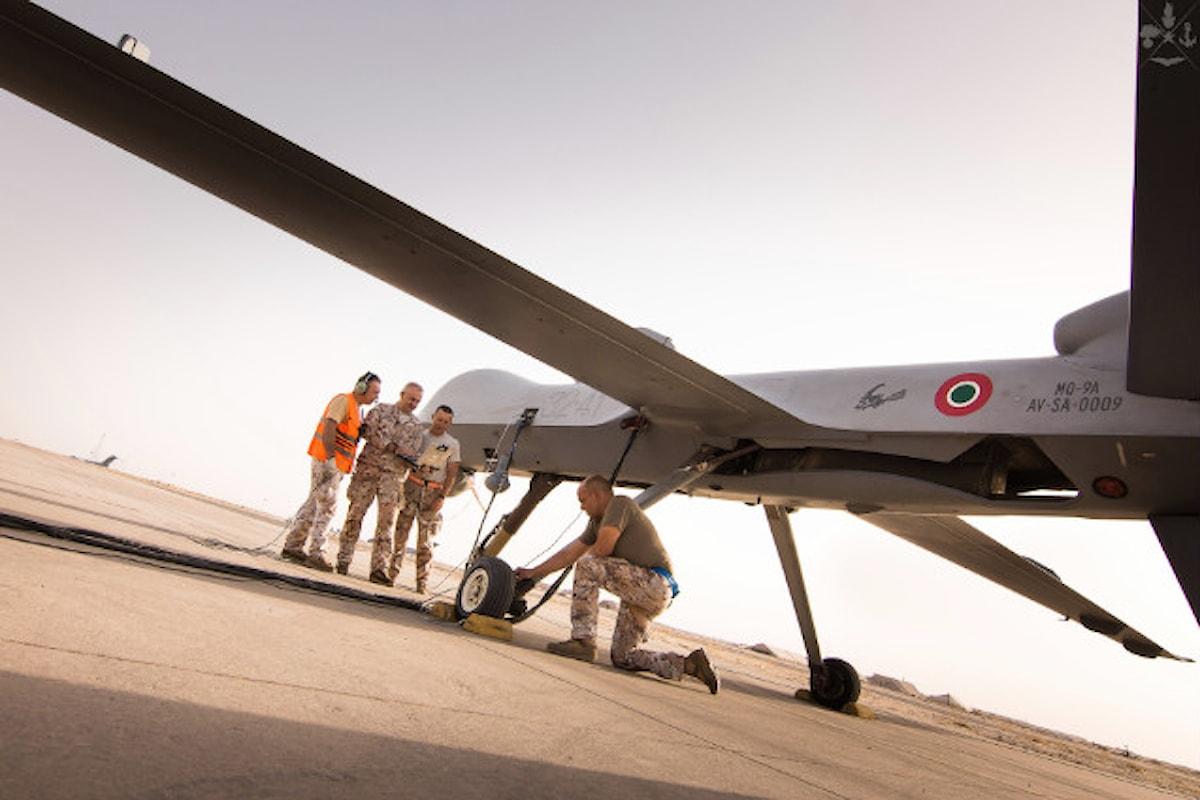 Kuwait: i Predator dell'Aeronautica Militare Italiana in missione raggiungono straordinario traguardo 10 mila ore di volo