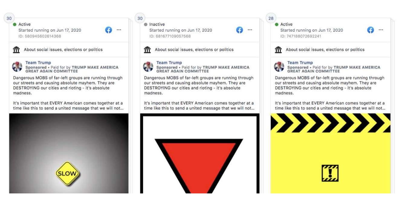Facebook oscura la pubblicità di Trump per istigazione all'odio