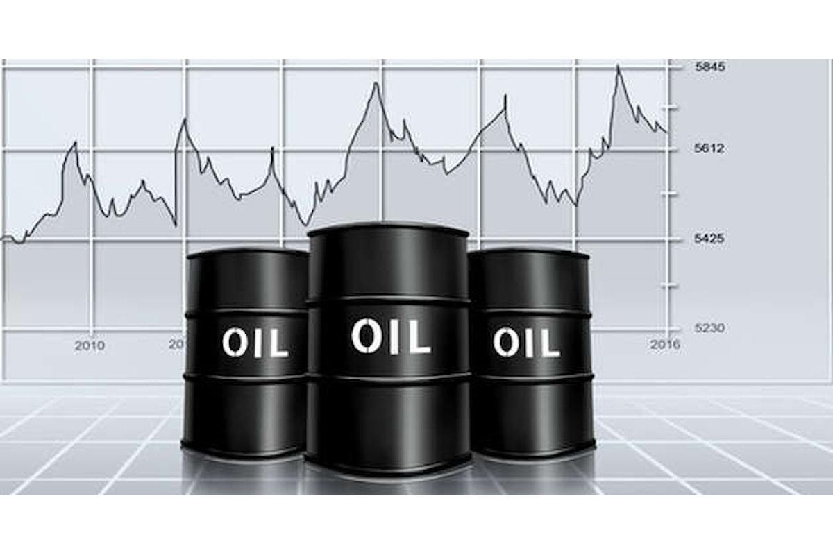 Prezzi del petrolio di nuovo in calo, pesa l'incremento delle scorte