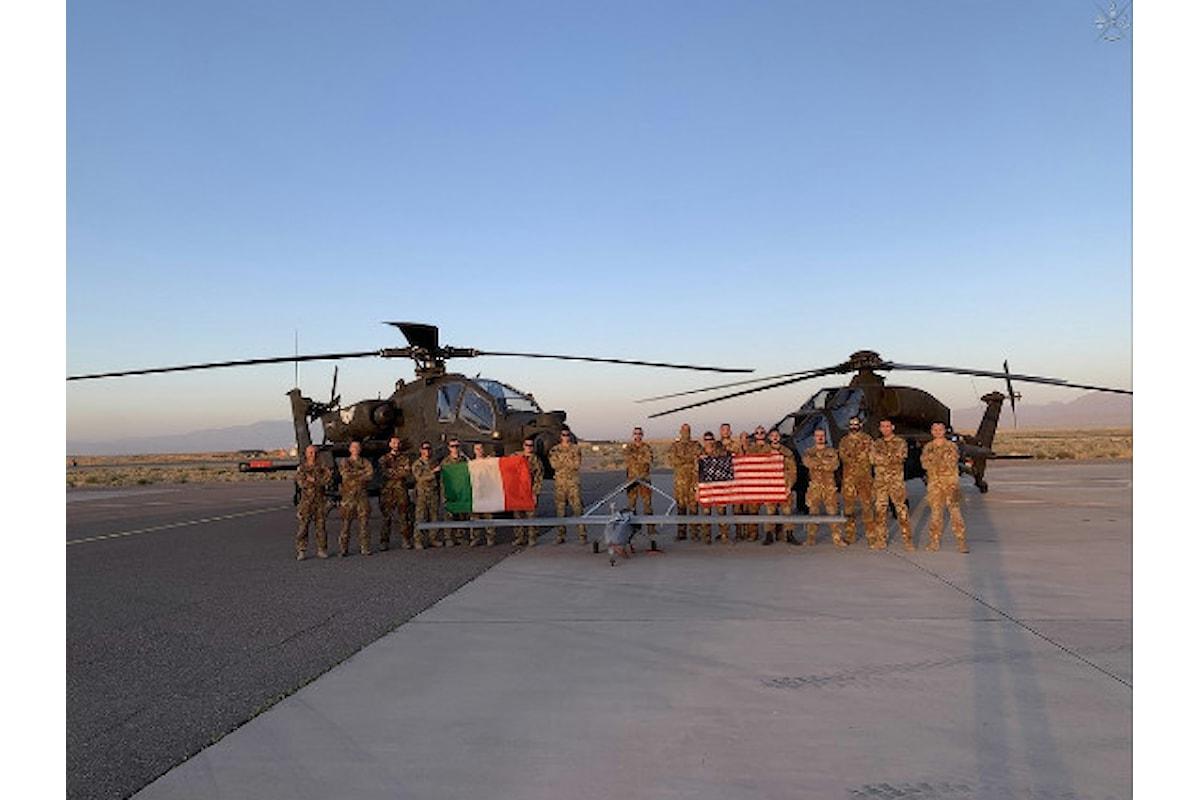 Afghanistan: i Mangusta del contingente italiano raggiungono traguardo delle 13.500 ore di volo