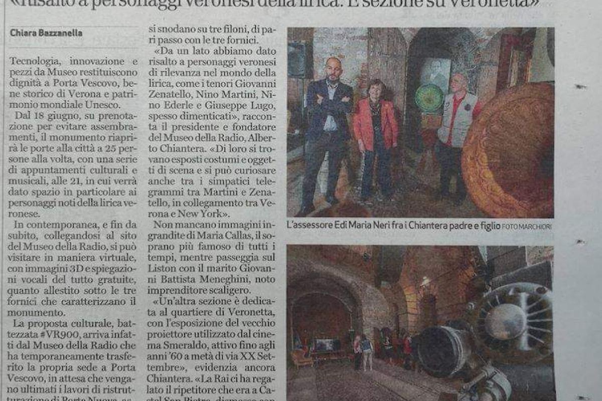 Nasce il progetto Verona900: un piano di ampio respiro per la valorizzazione del patrimonio culturale e storico della città nella fase successiva alla pandemia da Covid 19