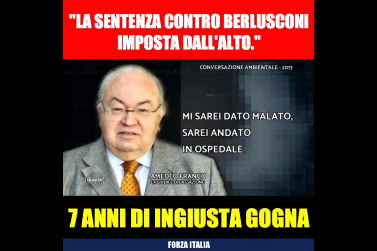 La curiosa intercettazione tra Franco e Berlusconi e le assurde richieste di Forza Italia