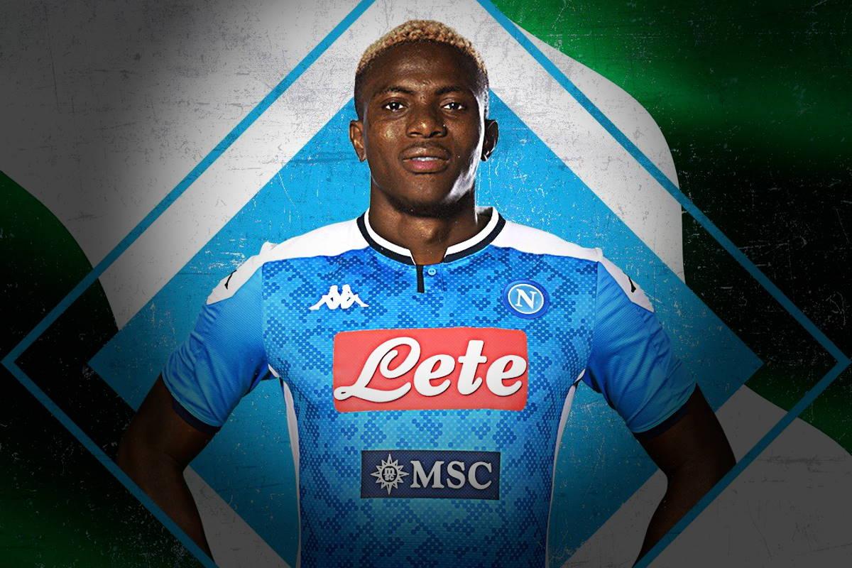 Victor Osimhen è un giocatore del Napoli