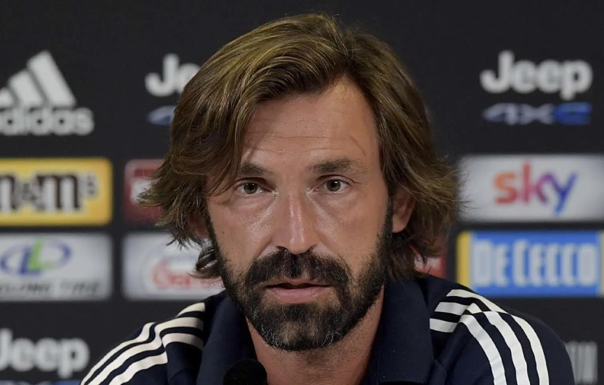 L'imperdibile prima conferenza stampa di Pirlo come allenatore della Juventus