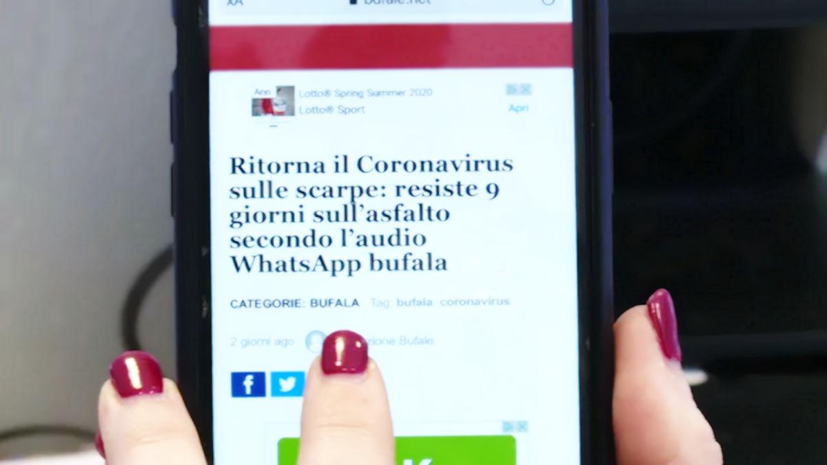 Coronavirus, la disinformazione sui social e i pericoli di seguire false informazioni