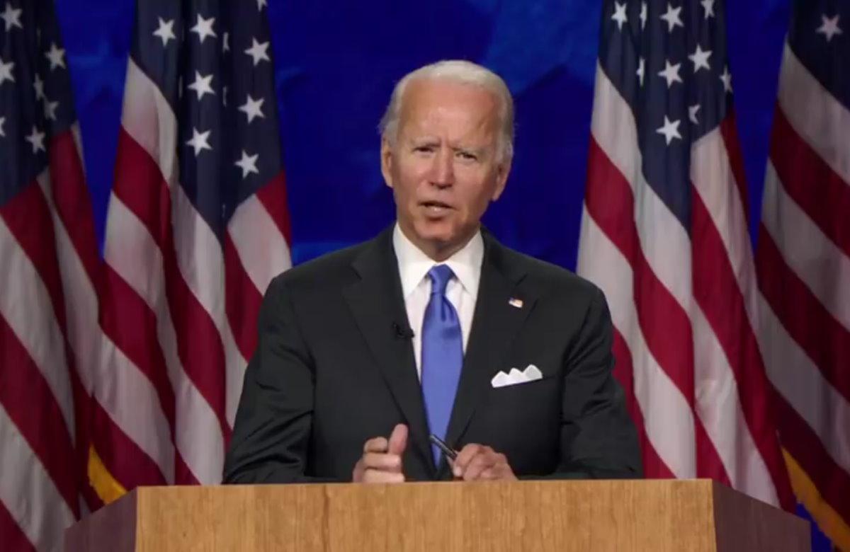 Con il discorso di Biden si è conclusa la Convention del Partito Democratico