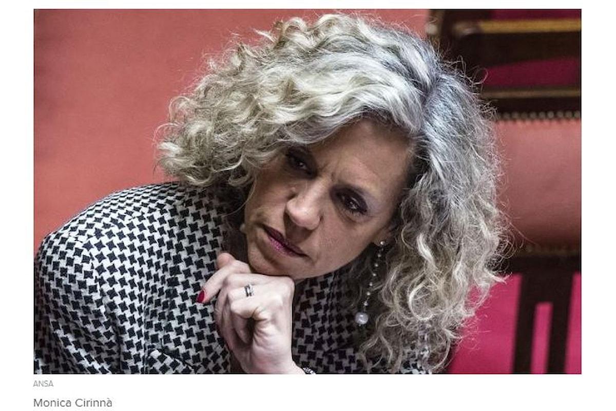 Monica Cirinnà si candida a Sindaco di Roma
