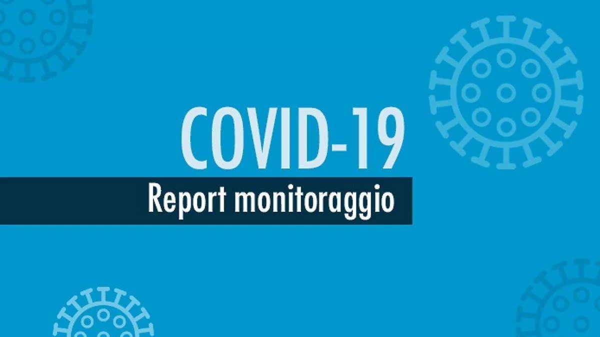 Report monitoraggio Covid dal 7 al 13 settembre
