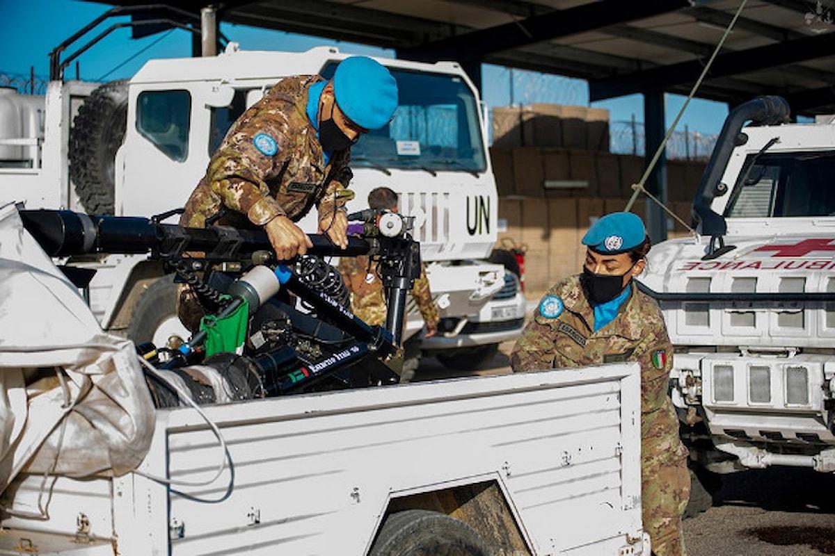 Libano: una task force di militari italiani supporta le LAF al porto di Beirut