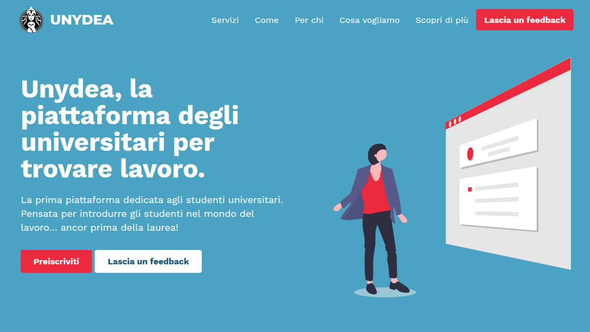 UNYDEA - Alliance Of Brains: una piattaforma per Universitari
