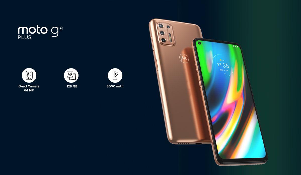 Il Moto G9 Plus è stato presentato ufficialmente: il lato B è simile a quello di un Galaxy Note20, ma il prezzo è molto più basso