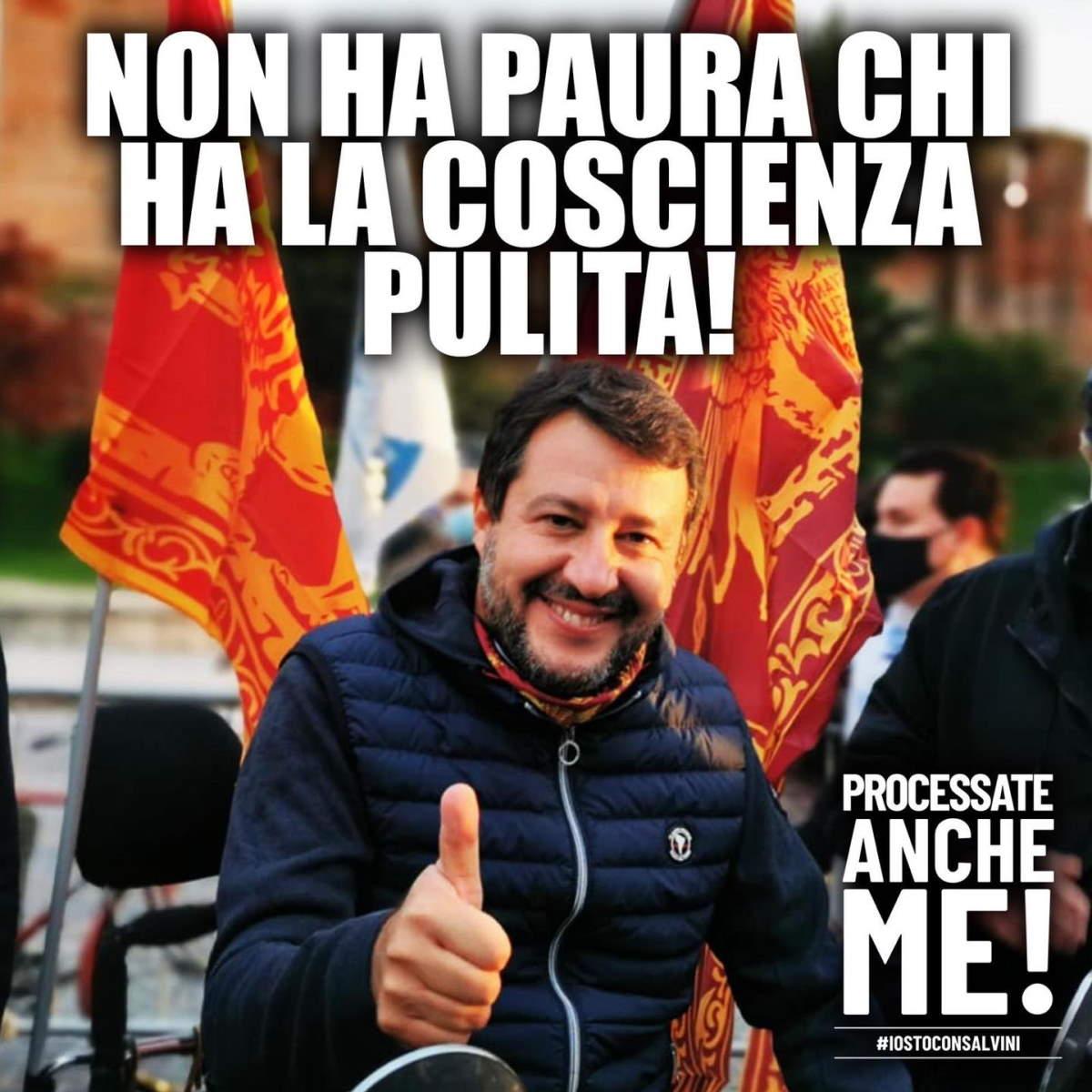 È iniziata in Sicilia la tre giorni di eventi che precedono il processo di Catania in cui Salvini è imputato per sequestro di persona