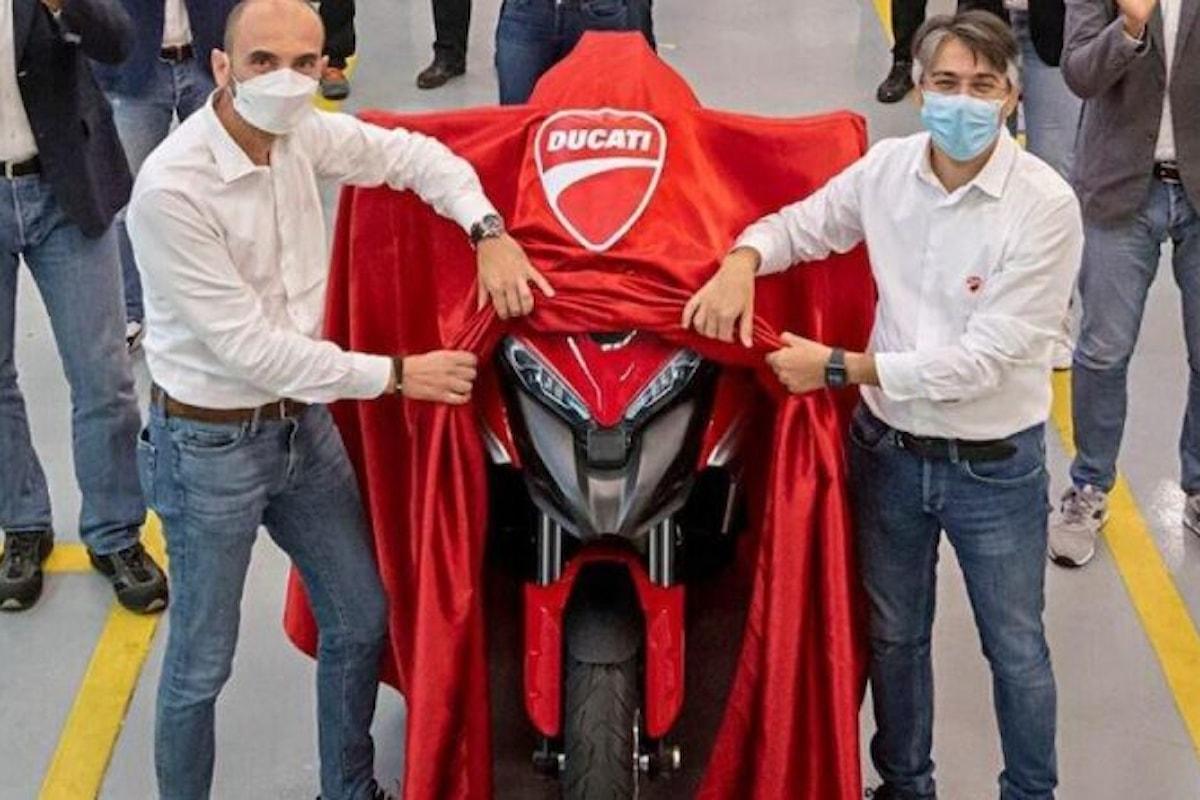 Inizia la produzione della Ducati Multistrada V4