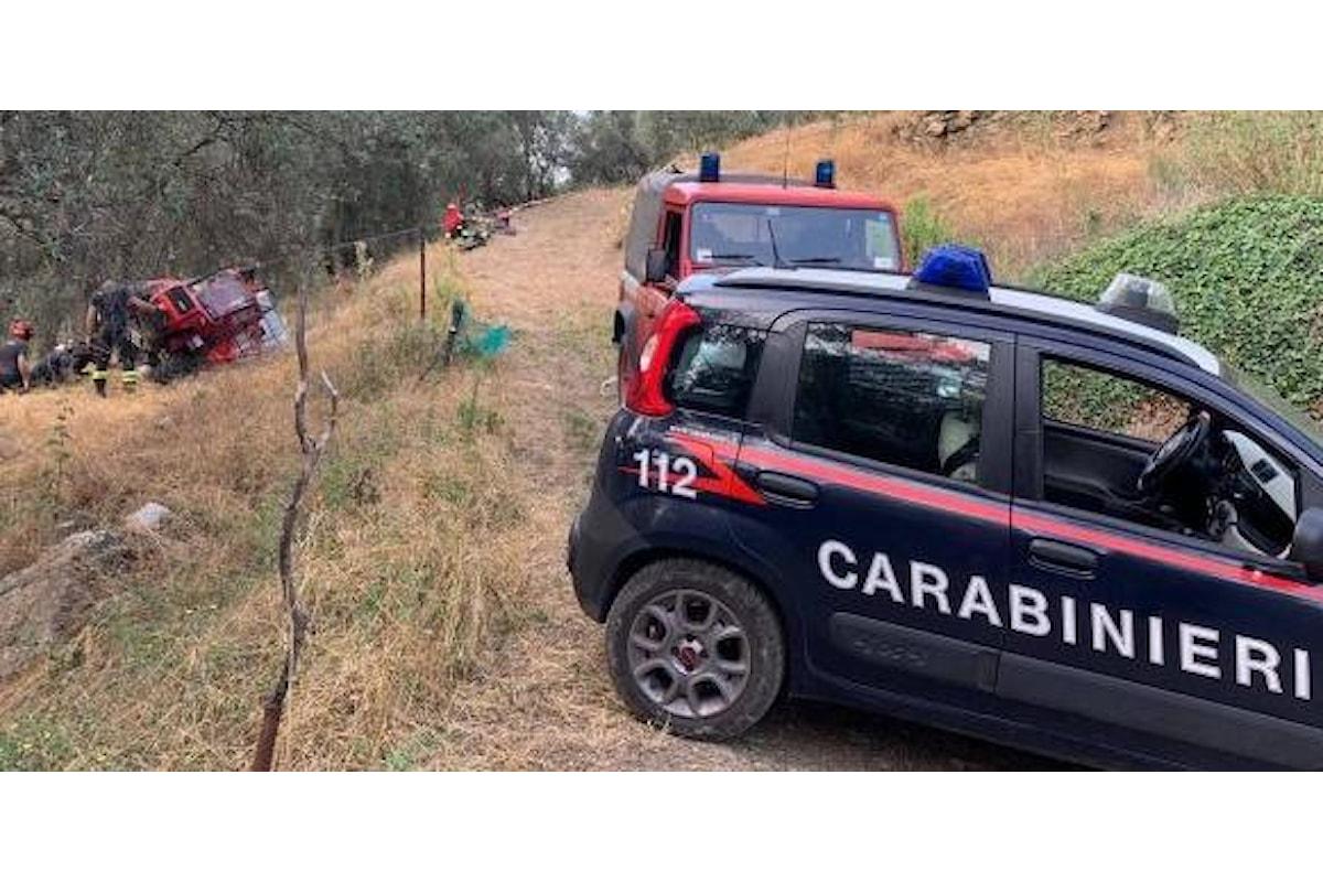 Tragedia nel salernitano, 22enne muore schiacciato dal trattore