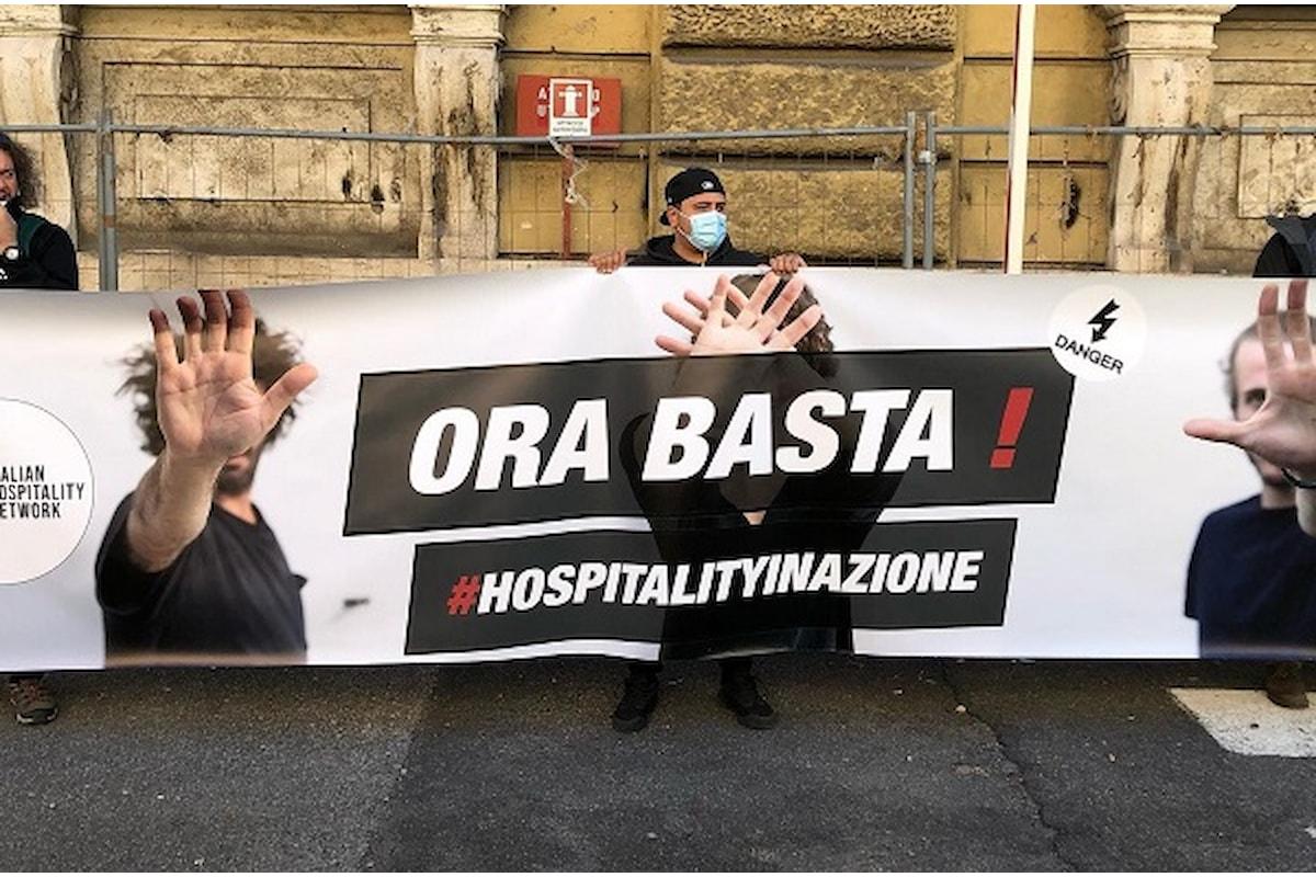 Italian Hospitality Network: ORA BASTA. Manifestazione Nazionale di Ristoranti, Cocktail Bar, Produttori, Vignaioli, Birrai, promotori di Eventi, Lavoratori del mondo dello spettacolo