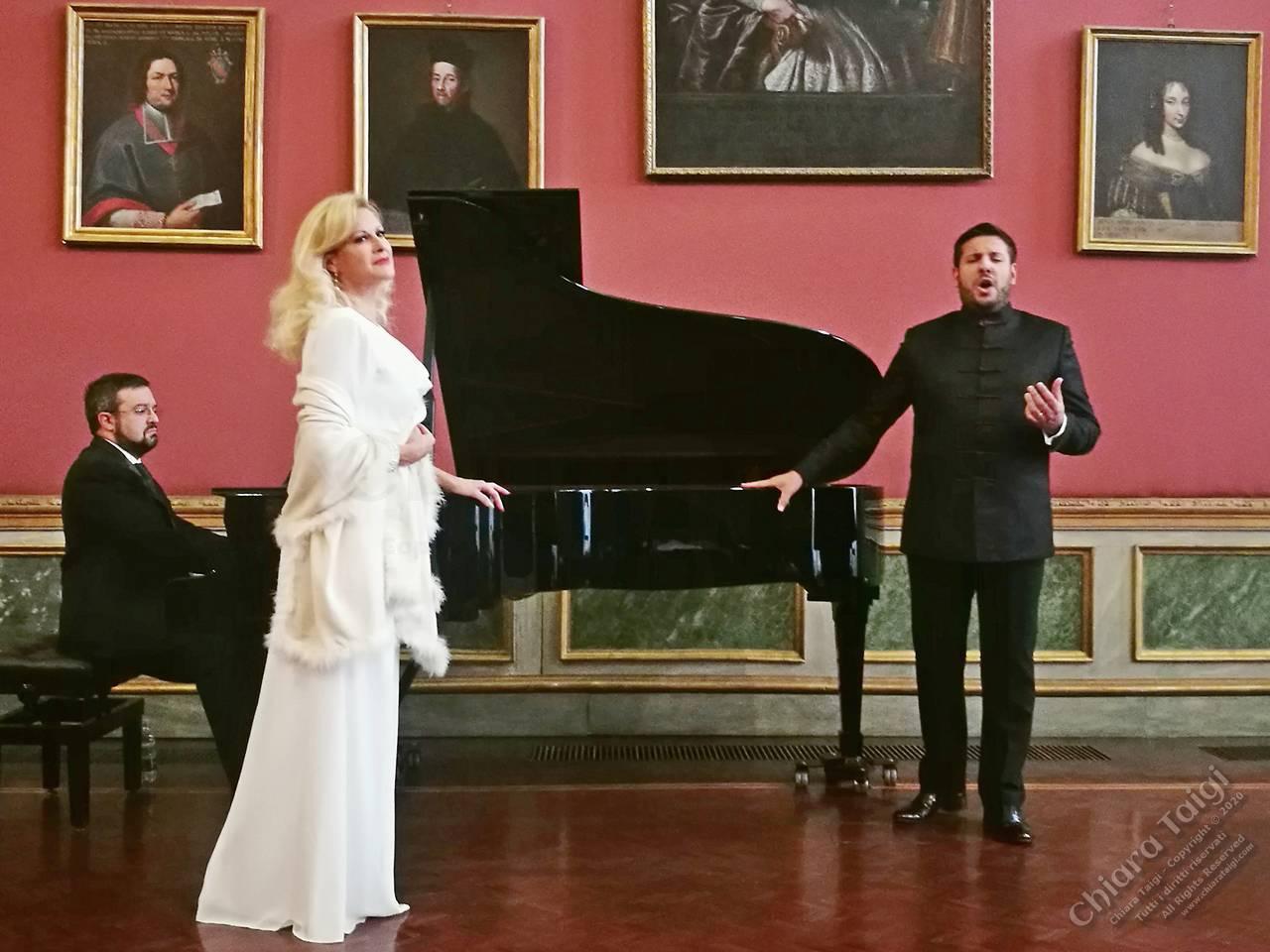 Chiara Taigi e Andrea Carè, concerto indimenticabile e tributo a Verdi in scena, Palazzo Barolo a Torino