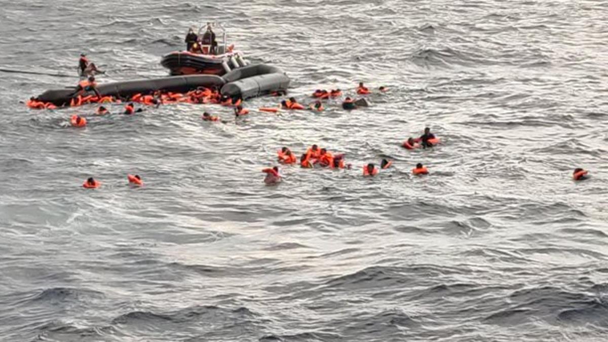 Nel Mediterraneo centrale si continua a morire... PAZZESCO!