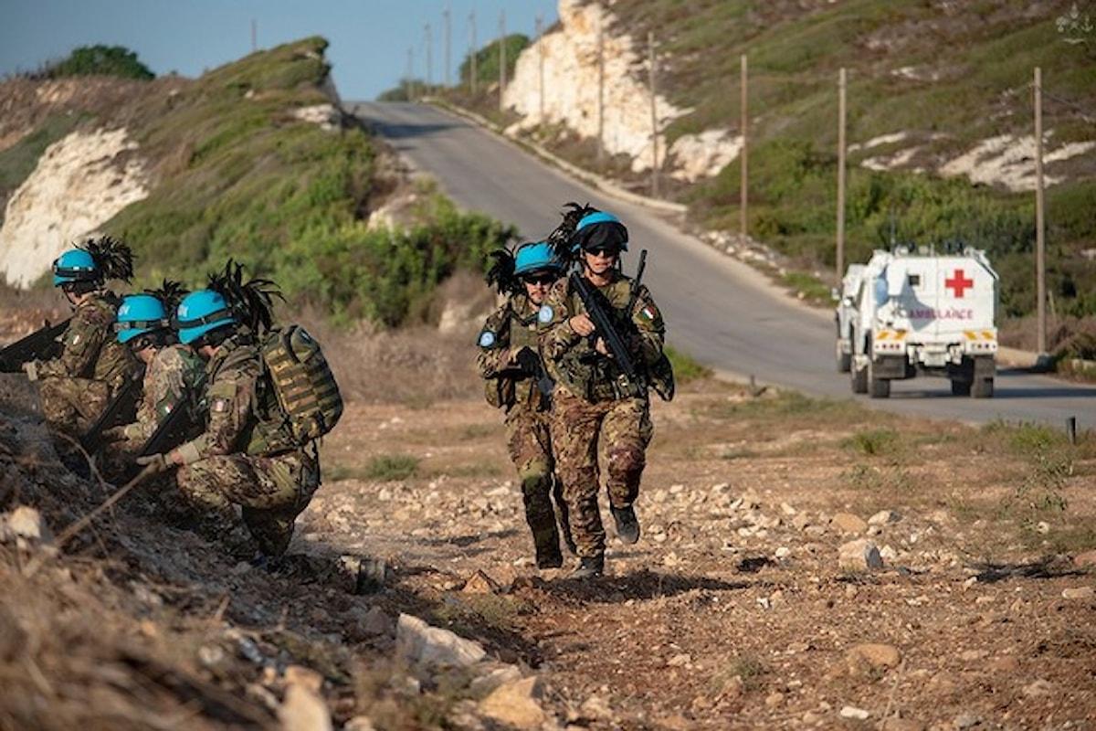 Libano: militari del 3° Reggimento Bersaglieri della Brigata Sassari salvano 4 anziani bloccati in auto da un nubifragio