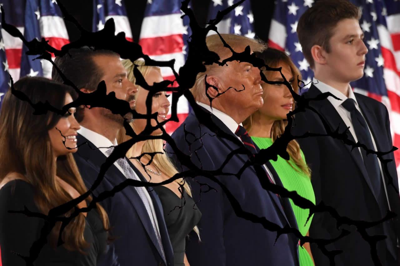 Donald Trump e la guerra in famiglia