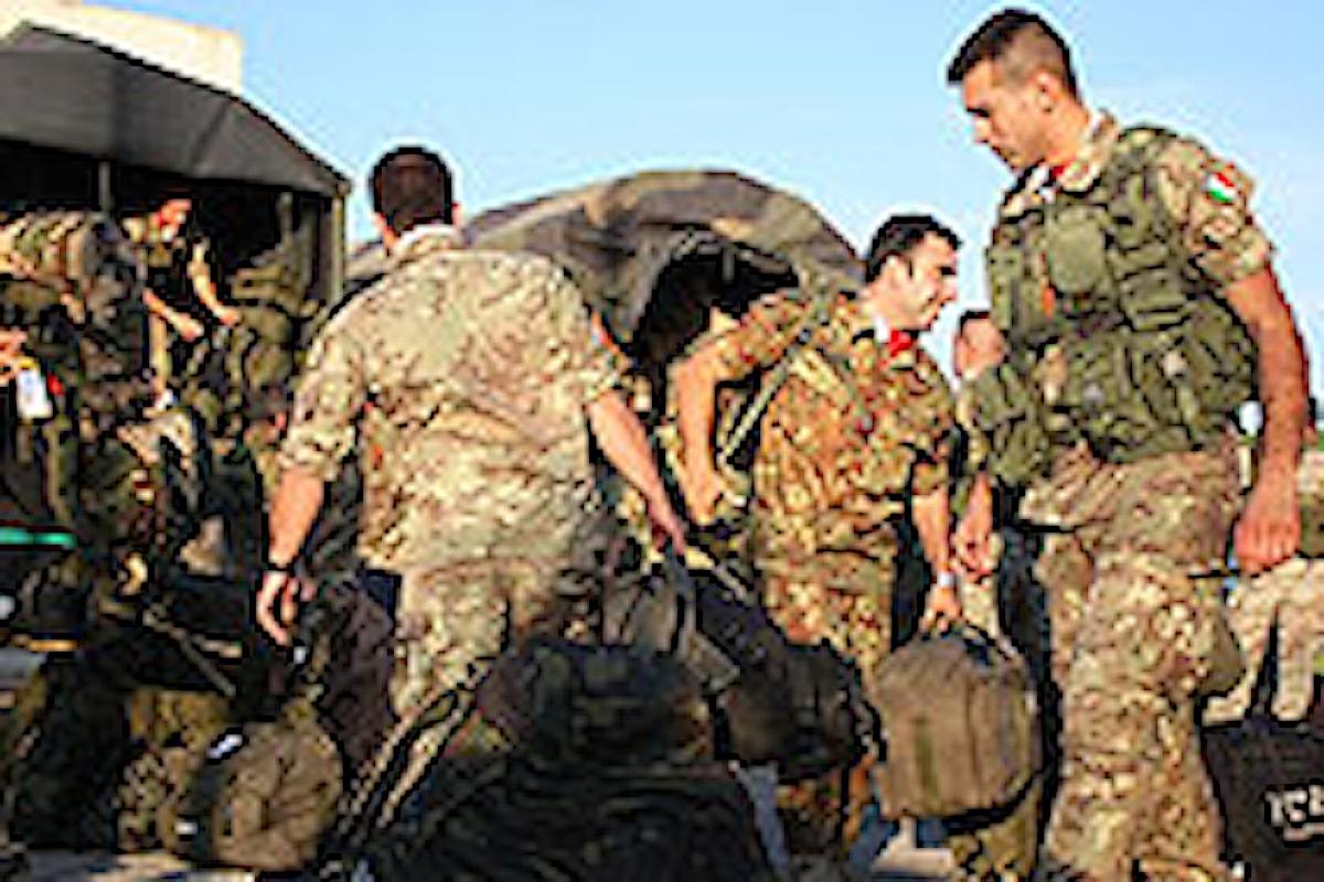 Bitti: i militari del 5° reggimento Genio Guastatori in azione a supporto della popolazione