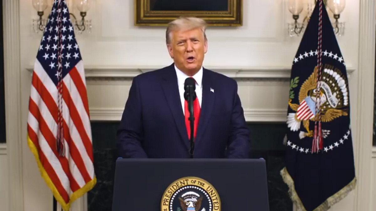 L'ultimo video di Trump: un attacco alla Costituzione degli Stati Uniti