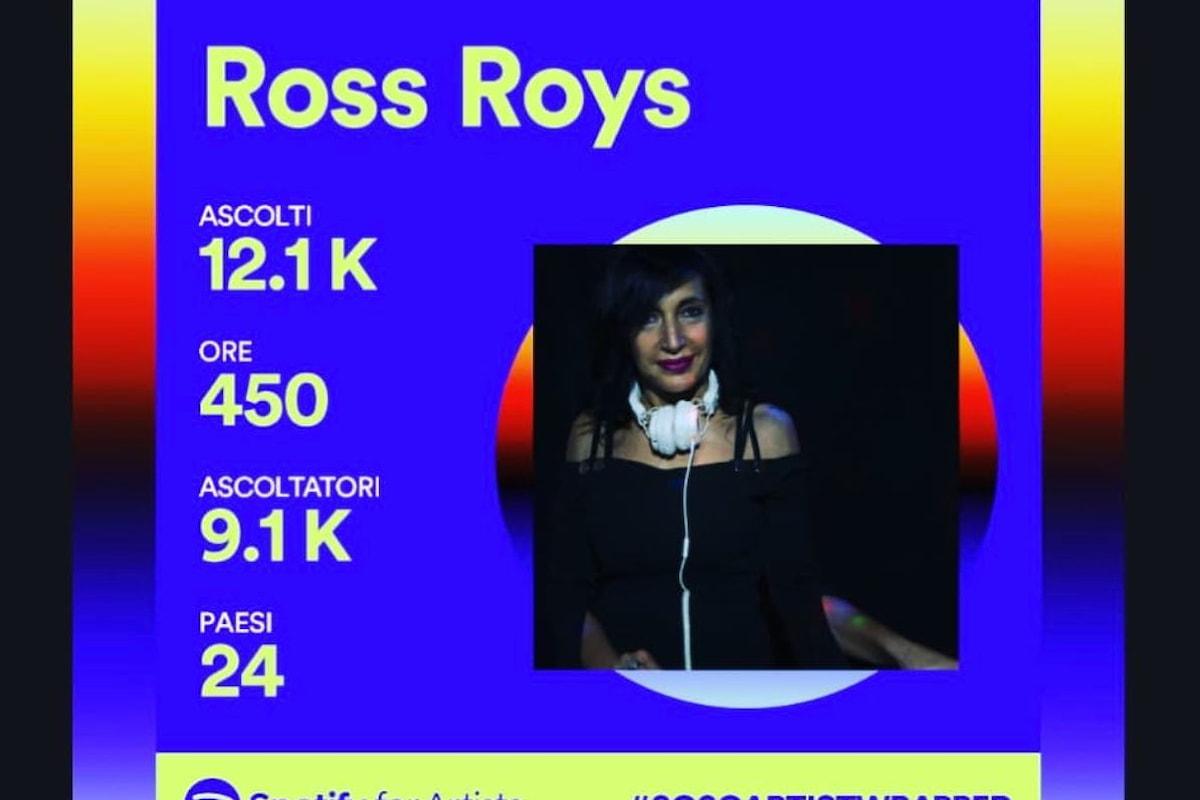 Ross Roys, buoni risultati su Spotify