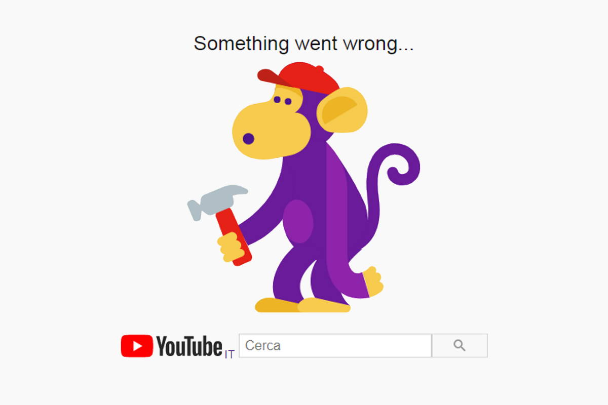 Google down... per un po'