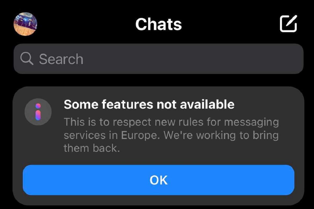 Facebook e Instagram sospenderanno alcune funzionalità per rispettare le norme sulla privacy dell'Ue
