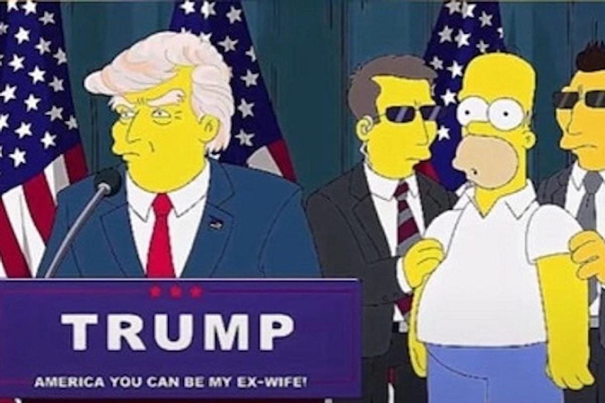 I Simpson avevano previsto l'assalto al Congresso USA (VIDEO)